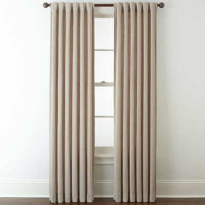 Royal Velvet® Luxury Chenille Rod-Pocket/Back-Tab Curtain Panels