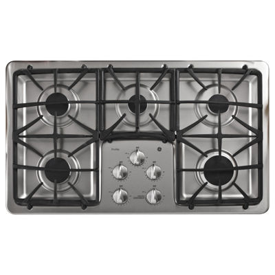 "GE Profile™  36"" Built-In Gas Cooktop With 5 Burners"