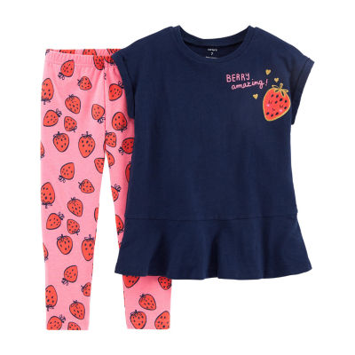 Carter's 2-pc. Legging Set Preschool / Big Kid Girls