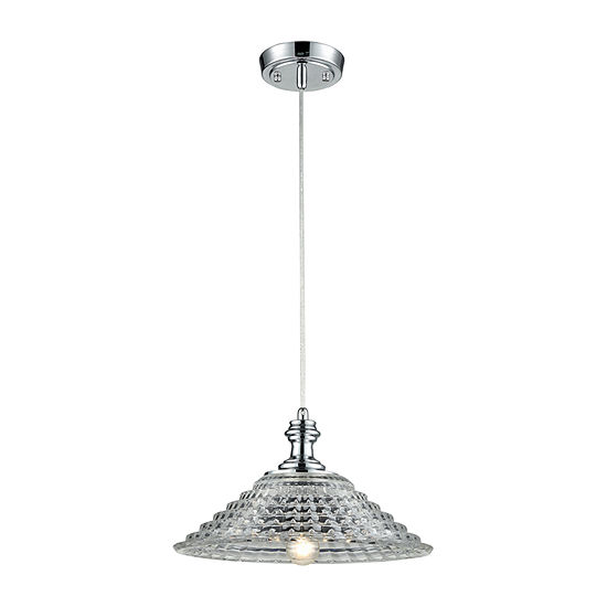 Dale Tiffany Quincy Crystal Mini Pendant Light