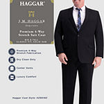Haggar Jm Haggar 4way Stretch Classic Fit Suit Separate Coat Big And Tall Classic Fit Stretch Suit Jacket-Big and Tall