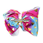 JoJo Siwa Signature Ombre Bow With Gold Hearts