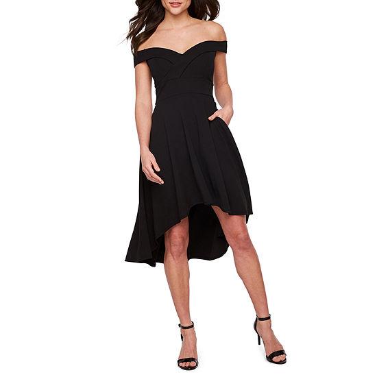 Premier Amour Off The Shoulder Fit & Flare Dress