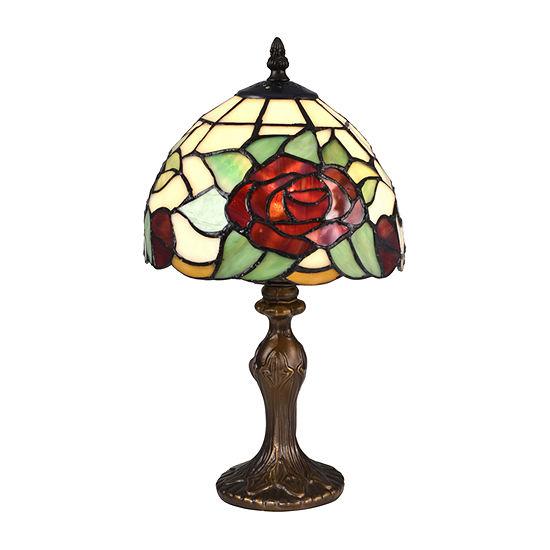 Dale Tiffany Flora Rose Desk Lamp