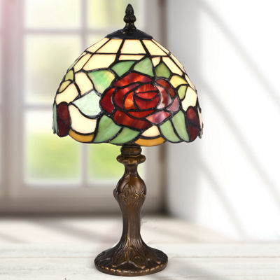 Dale Tiffany Flora Rose Desk Lamp