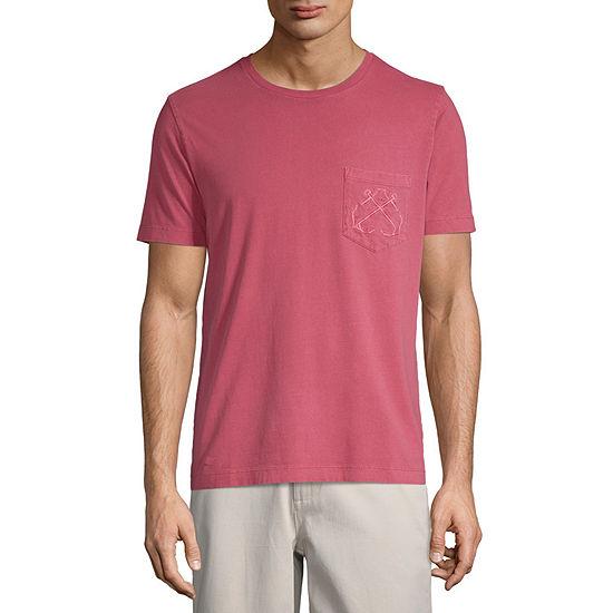 St. John's Bay No Tuck Mens Crew Neck Short Sleeve T-Shirt
