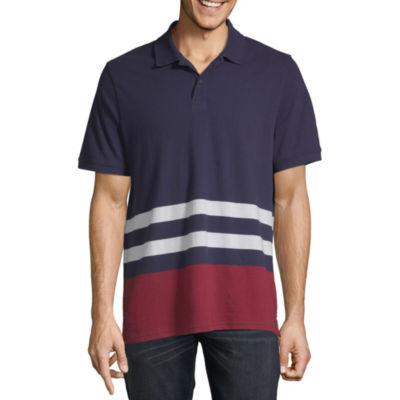 St. John's Bay Mens Short Sleeve Polo Shirt