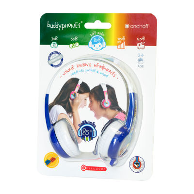 BuddyPhones Discover Kids Volume-Limiting Foldable Headphones