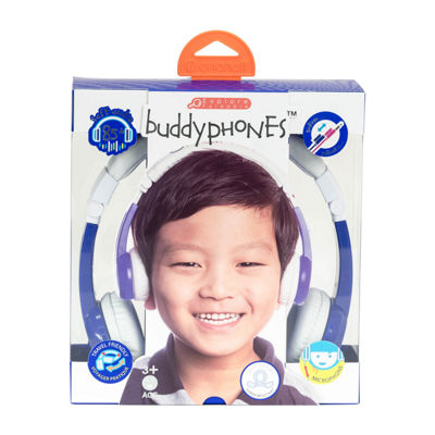 BuddyPhones Explore Kids Volume-Limiting Foldable Headphones