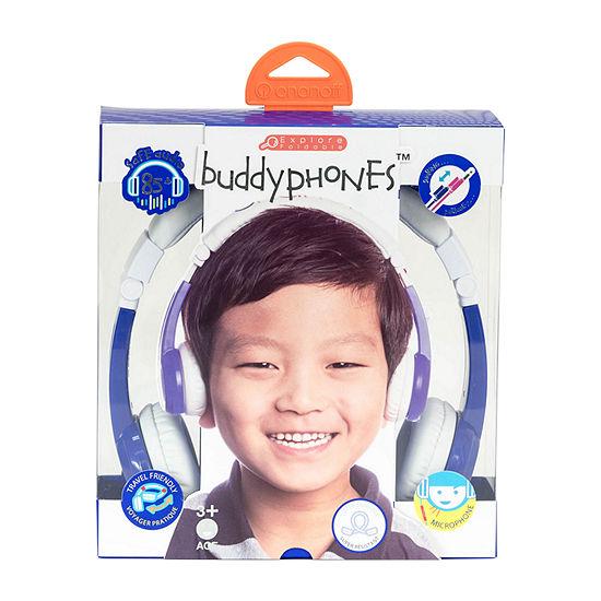 BuddyPhones Explore Kids Volume-Limiting Foldable Headphones