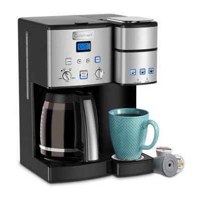 Cuisinart Coffee Center 12 Cup Coffeemaker And Single Serve