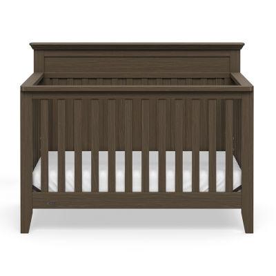 Graco Georgia 4-In-1 Baby Crib - Slate Gray
