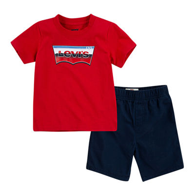 Levi's 2-pc. Short Set Toddler Boys