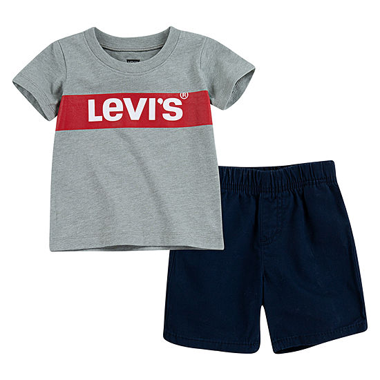 Levi's Boys 2-pc. Short Set Toddler
