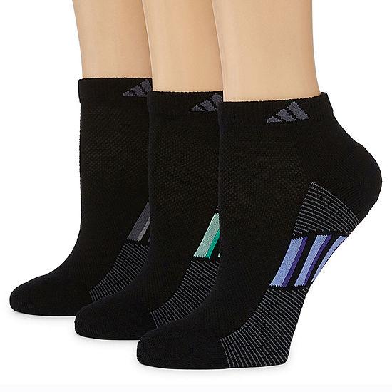 adidas 3 Pack Superlite Low-Cut Socks - Womens