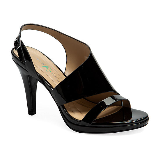 Andrew Geller Womens Theola Heeled Sandals