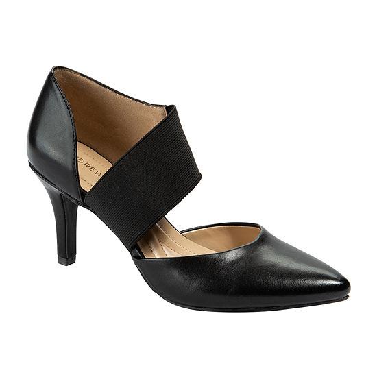 Andrew Geller Womens Maresa Pumps Cone Heel
