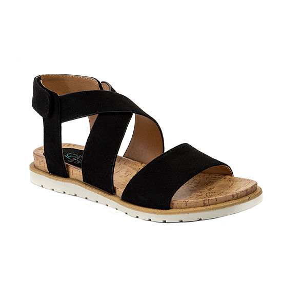 Andrew Geller Ignite Womens Adjustable Strap Footbed Sandals
