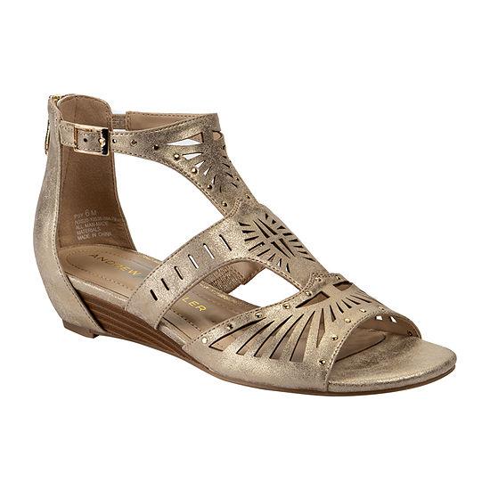 Andrew Geller Womens Ipsy Wedge Sandals