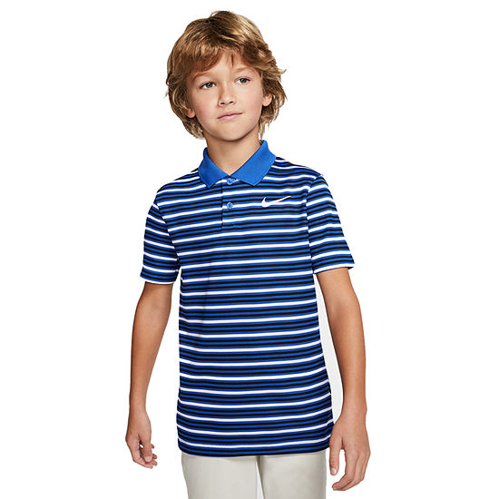 Nike - Big Kid Boys Short Sleeve Moisture Wicking Polo Shirt