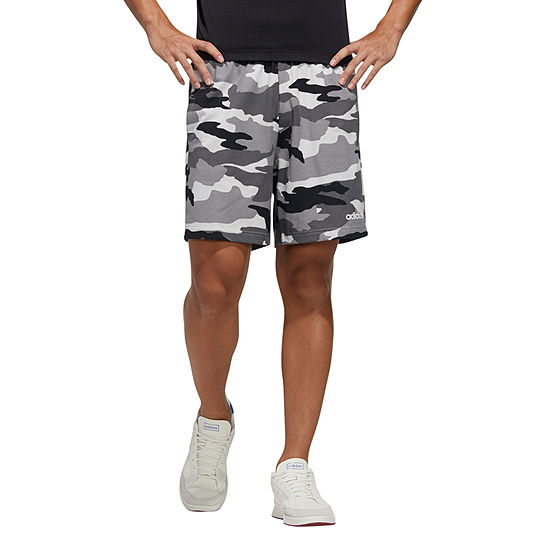 adidas Camo Mens Moisture Wicking Pull-On Short