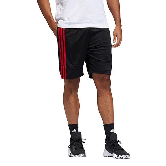 adidas Mens Moisture Wicking Basketball Short