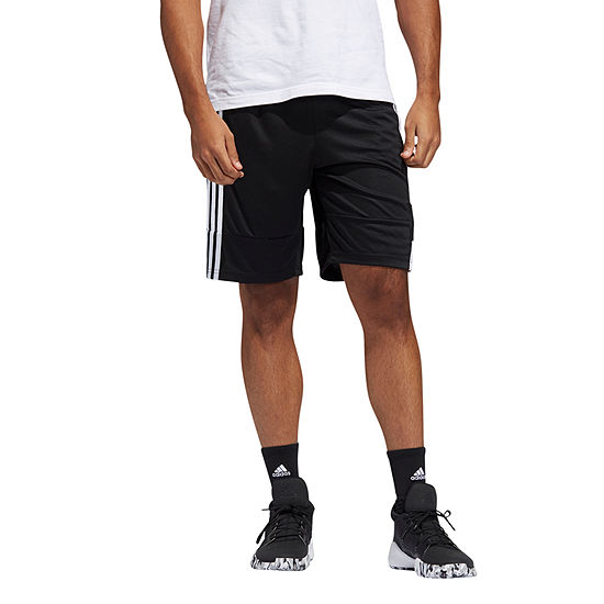 adidas Mens Moisture Wicking Basketball Short