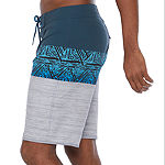 "Burnside Native Striped 10 1/2"" Board Shorts UPF 30"