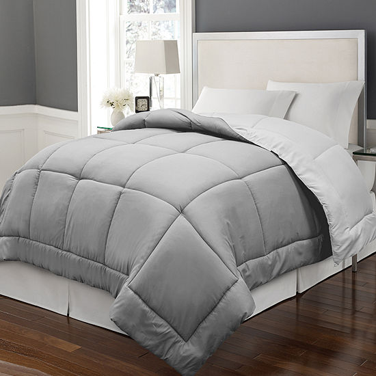 Blue Ridge Home Fashions Reversible Down Alternative Comforter