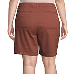 "a.n.a-Plus Womens 7"" Chino Short"