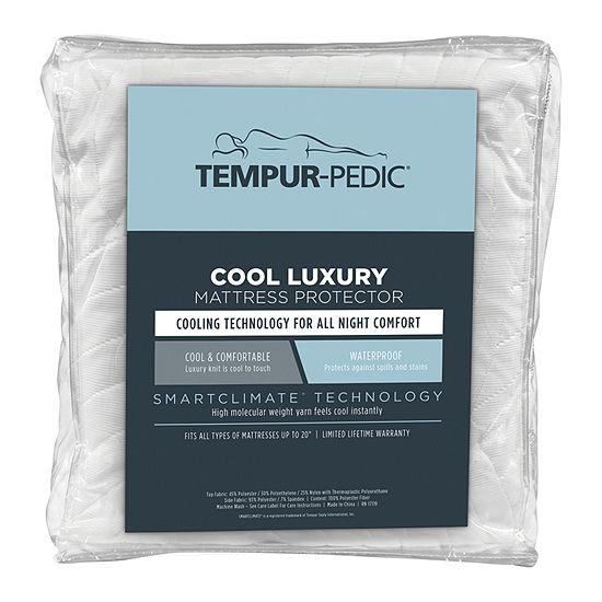 Tempur-Pedic Cool Luxury Waterproof Mattress Protector