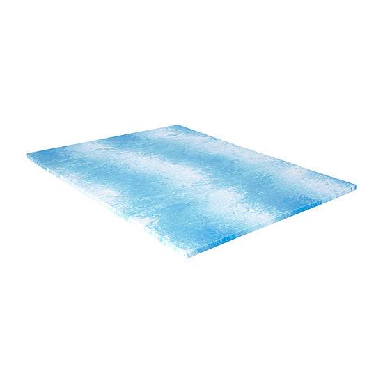 """Sealy 1.5"""" Cool Gel Memory Foam Mattress Topper"""