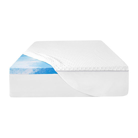 "Sealy 3"" Cool Gel Memory Foam Mattress Topper"