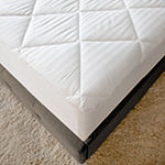 Restonic 300 Thread Count Striped Deep Pocket Mattress Pad