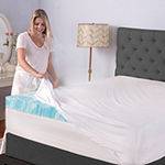 "Sensorpedic 4"" Gel Swirl Memory Foam Mattress Topper"