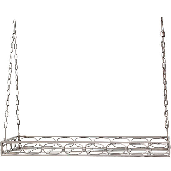 Old Dutch International® Rectangular Pot Rack + 16 Hooks