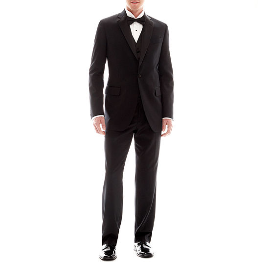 Stafford Black Tuxedo Classic Fit Suit Separates
