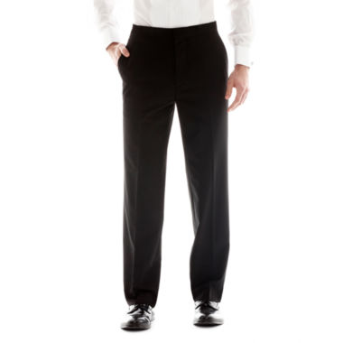 Men's JF J. Ferrar® Flat-Front Tuxedo Slim-Fit Pants