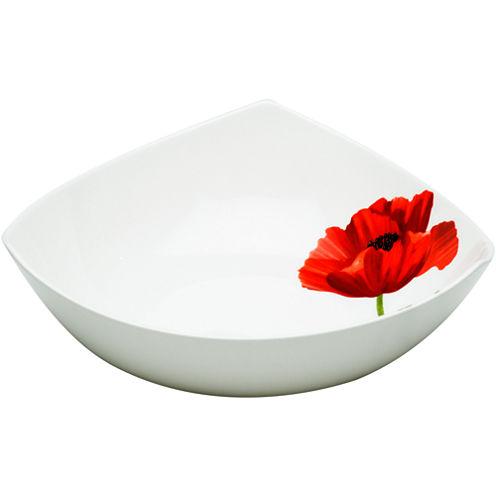 Red Vanilla Summer Sun Set of 6 Bone China Soup Bowls