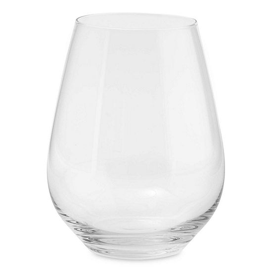 JCPenney Home™ Set of 4 Stemless White Wine Glasses