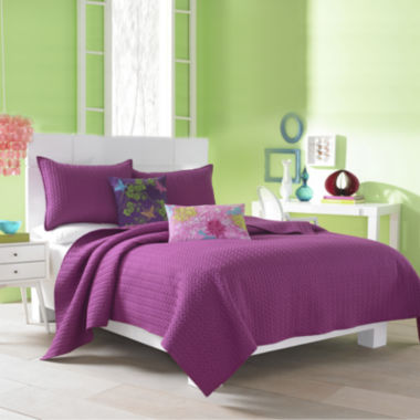 jcpenney.com | Q by Queen Street® Catori Coverlet & Accessories