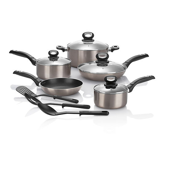 Cooks Color Expressions 12-pc. Nonstick Cookware Set