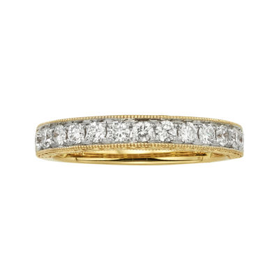 1/2 CT. T.W. Certified Diamond 14K Yellow Gold Wedding Band