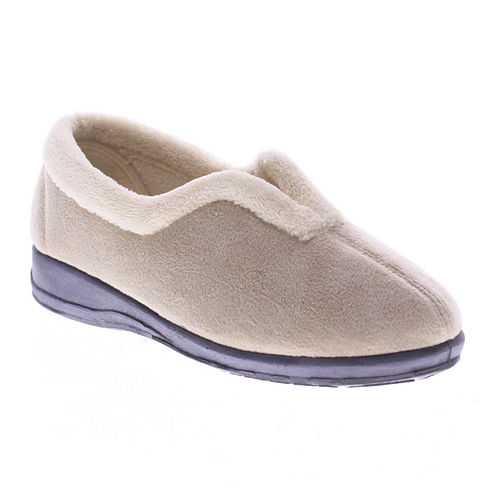 Spring Step Cindy Suede Slippers