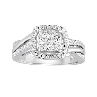 I Said Yes™ 5/8 CT. T.W. Diamond 10K White Gold Engagement Ring