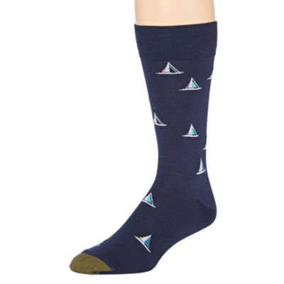 Gold Toe® Mens Dress Crew Socks