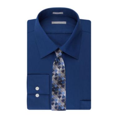 jcpenney.com | Van Heusen® No-Iron Lux Sateen Dress Shirt and Tie Combo