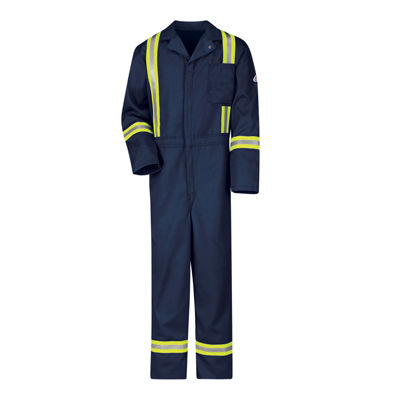 Bulwark® Excel Long-Sleeve Flame-Resistant Classic Coveralls - Big & Tall