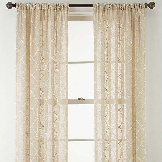 Jcpenney Curtain Rod Installation Www Myfamilyliving Com