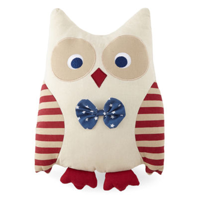 JCPenney Home™ Patriotic Owl Decorative Pillow